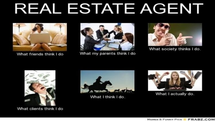 real estate agent: what people think I do